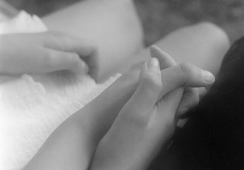 Our hands, together, always. Photo belongs to me.
